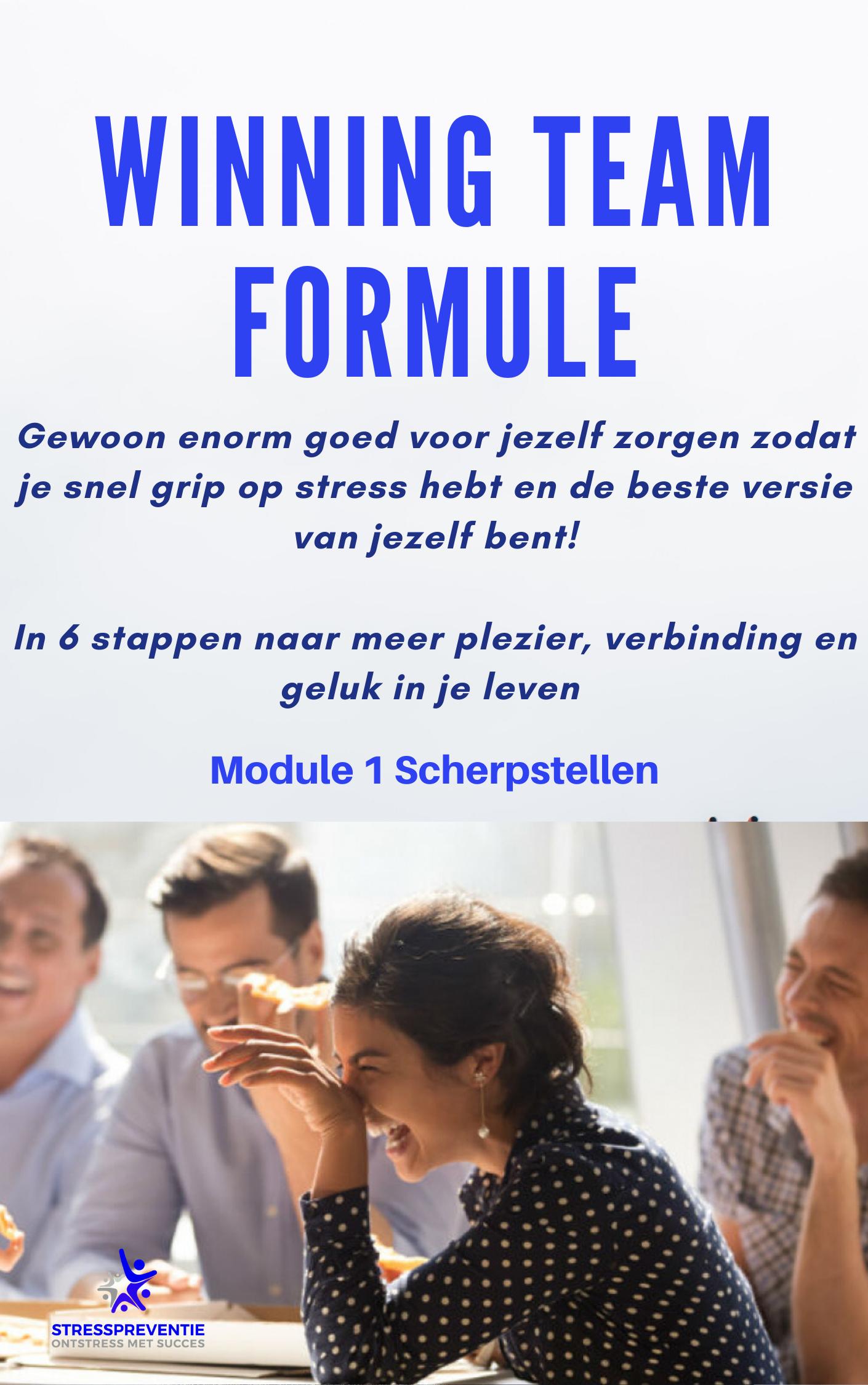 Winning team module 1