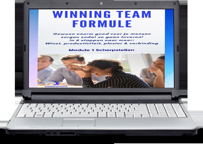 Winning team formule